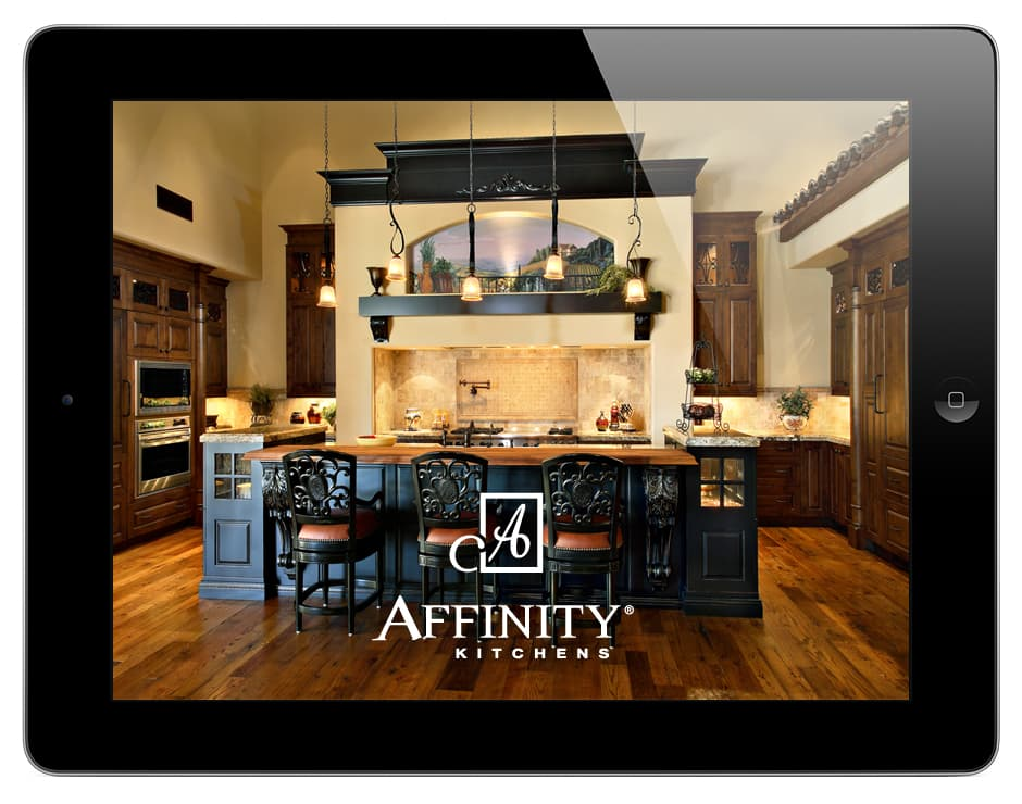 Affinity KitchensiPad Sales Kit